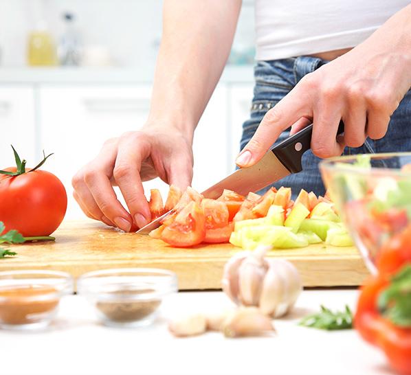 Еда приготовлено своими руками